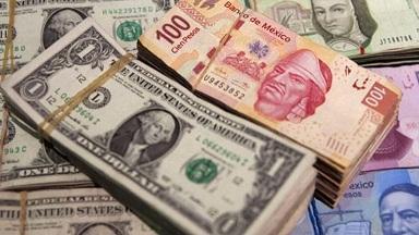 Peso mexicano se aprecia tras toma de utilidades