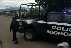Uruapan: Sujetos armados se enfrentaron a balazos en la colonia Haciendas de San Rafael