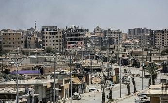 Fuerzas antiyihadistas expulsan al grupo EI del 90% de la ciudad siria de Raqa