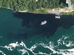 Ordenan investigar descarga de aguas negras en el Niágara