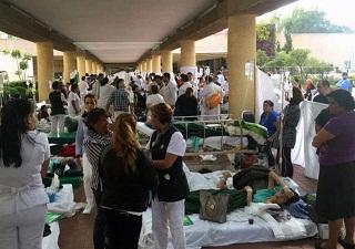 IMSS atiende a derechohabientes y no beneficiados en clínicas y hospitales