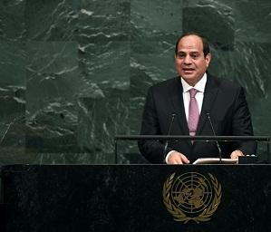 Presidente egipcio llama a los palestinos a unirse y a coexistir con Israel