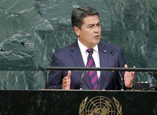 Presidente de Honduras, con 15 puntos de ventaja para inédita reelección en noviembre