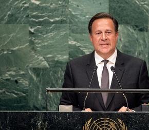 """Varela pide impedir que narcotráfico """"robe"""" la paz a Colombia y Centroamérica"""