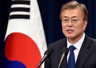 Presidente surcoreano Moon quiere un tratado de paz intercoreano