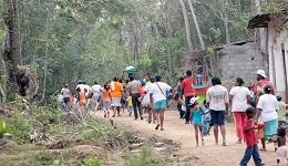 Más de 470 desplazados en Colombia tras el combate de disidentes de las FARC