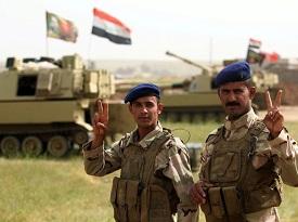 Tras Bagdad, la ciudad de Mosul festeja la victoria sobre el EI