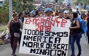 Miembros de caravana migrante comienzan a llegar a frontera México-EEUU pese a amenazas de Trump