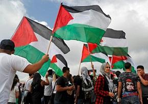 Protesta de árabes israelíes en el aniversario de la fundación del Estado hebreo